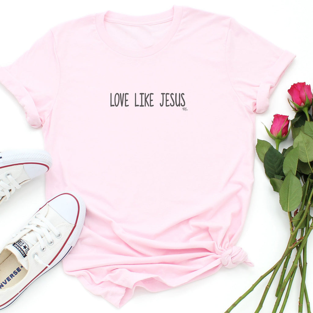 Love Like Jesus Short Sleeve T-Shirt