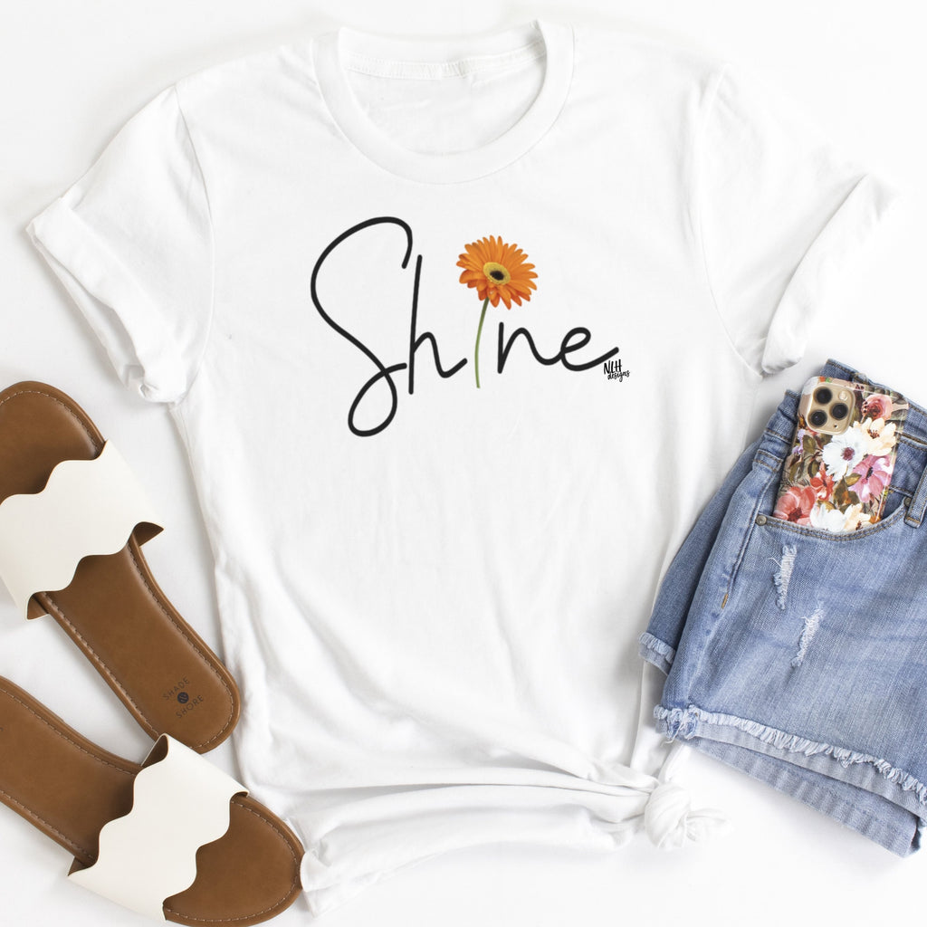 Shine Daisy Short Sleeve T-Shirt