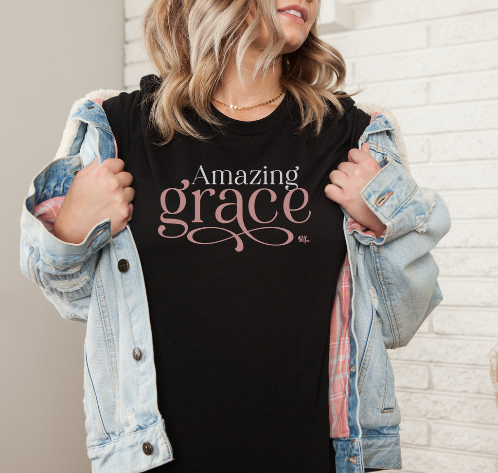 Amazing Grace Short Sleeve T-Shirt