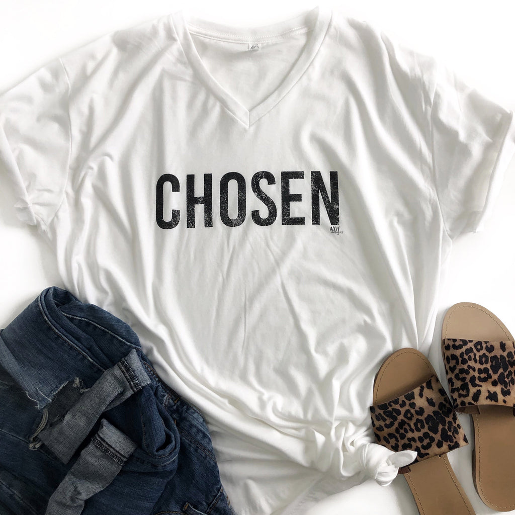 CHOSEN Short Sleeve T-Shirt - White