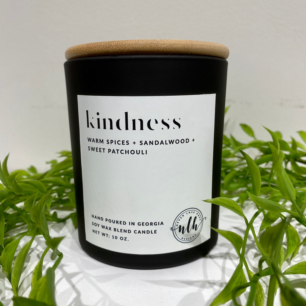 """KINDNESS"" soy wax blend candle (pack of 4)"