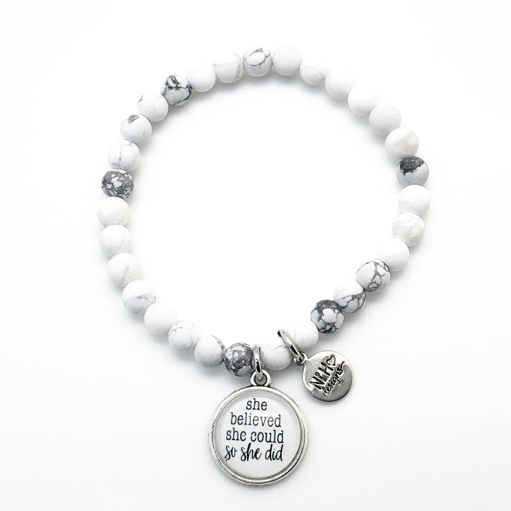 Simple Sentiment Bracelet 8