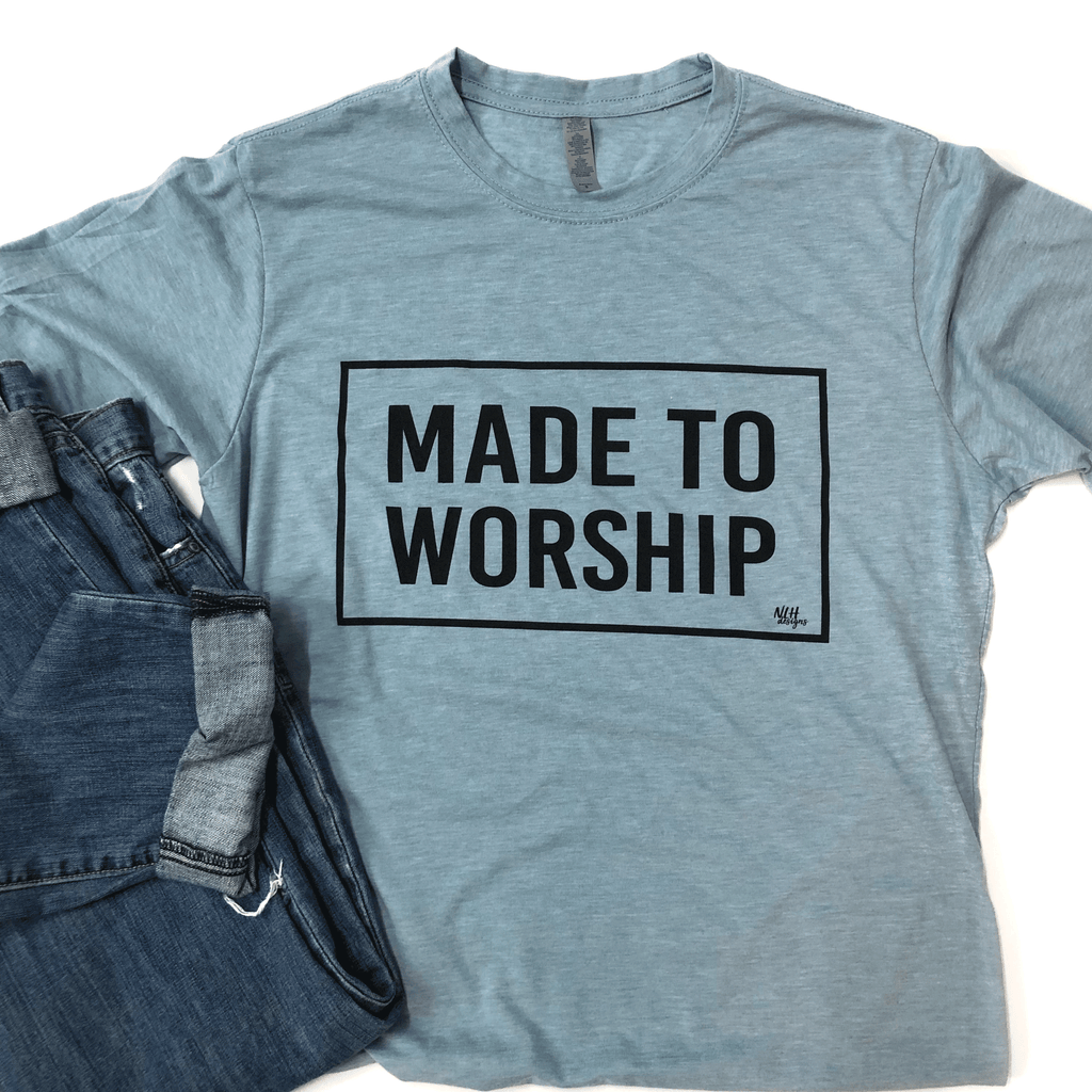 Made To Worship Short Sleeve T-Shirt