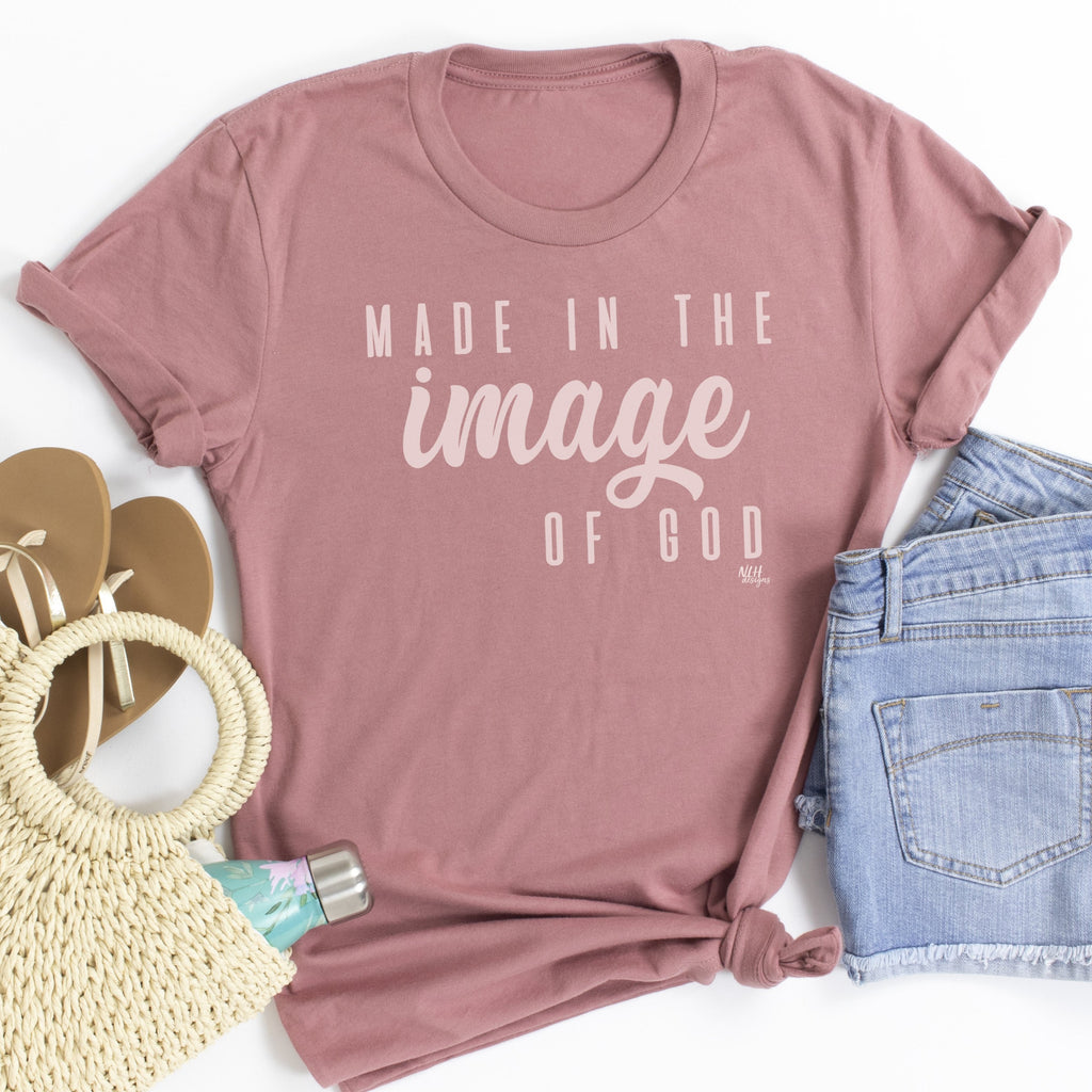 Made In The Image Of God Short Sleeve Tee