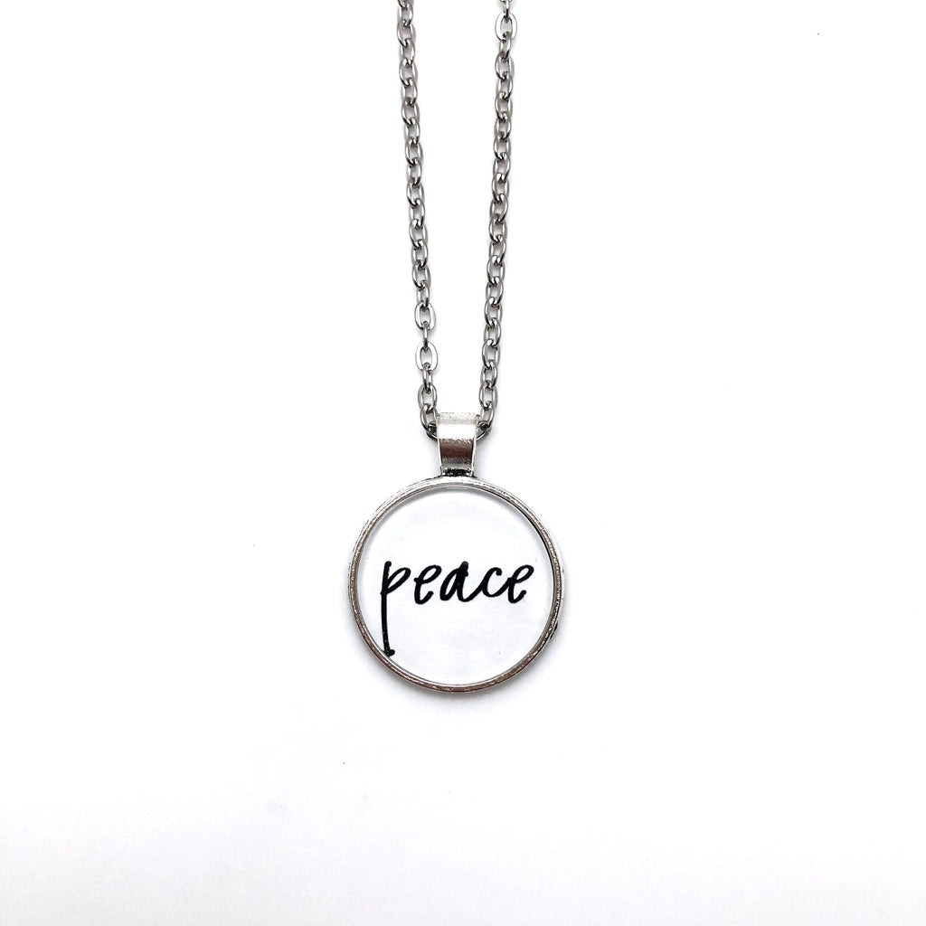 Peace Simply Stated Necklace