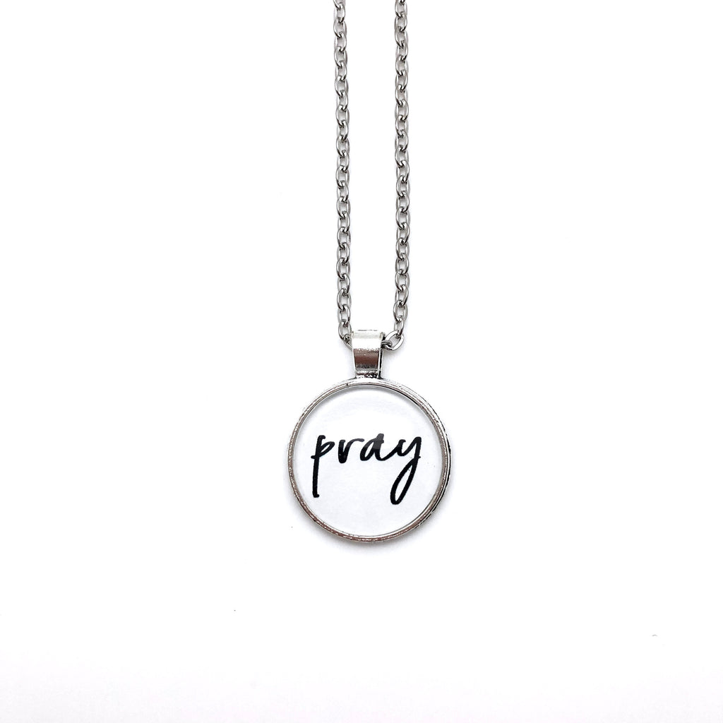 Pray Simply Stated Necklace