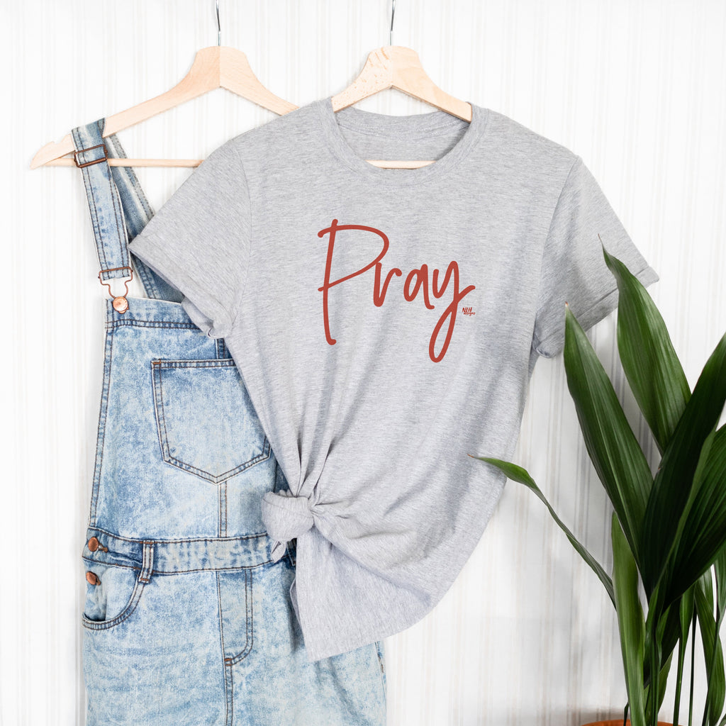 Pray Short Sleeve T-Shirt
