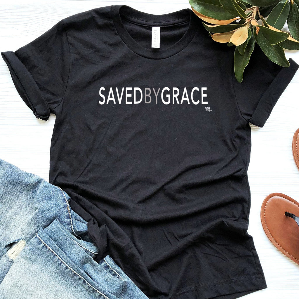 Saved By Grace Short Sleeve T-Shirt