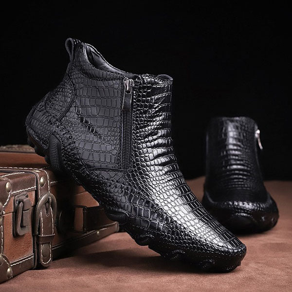 2019 Autumn Men's Fashion Business Casual Leather Boots Shoes(Buy 2 Get Extra 5% OFF,Buy 3 Get Extra 10% OFF)