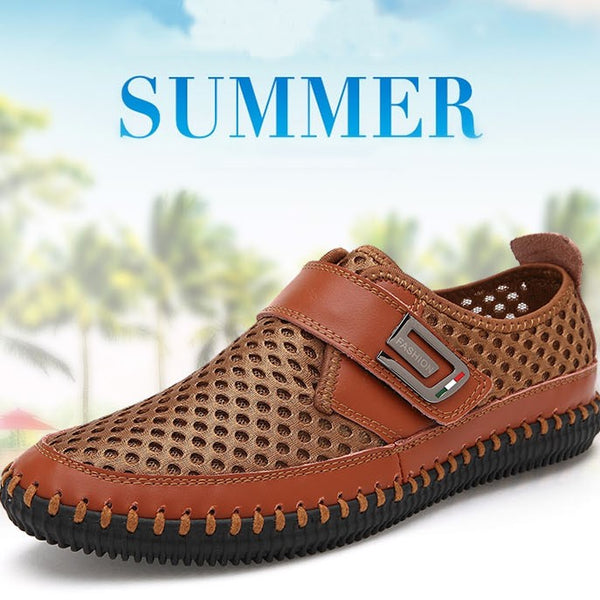 0a22667a0 Men s Shoes - 2019 Casual Breathable Leather Mesh Shoes(Extra Discount:Buy  2 Get