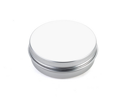 Metal Box with Lid (Round) 2oz (70x 20 mm)