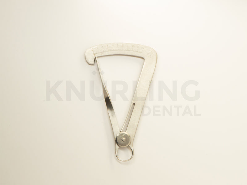Dental Wax Metal Crown Gauge