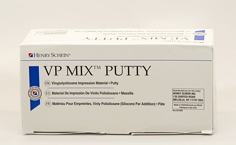 Henry Schein VP Mix Putty Fast Set Kit 300ML