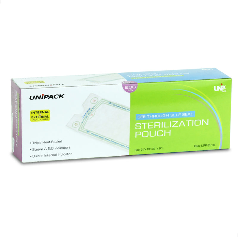 "Sterilization Pouches (2""*8"") ( Pack of 10 )"