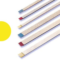 Two Striper Metal Strip Narrow Yellow Ultra Fine ( Pack of 1)