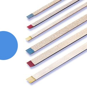Two Striper Metal Strip Blue Coarse ( Pack of 1)