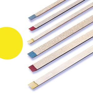 Two Striper Metal Strip Yellow Ultra Fine ( Pack of 1)
