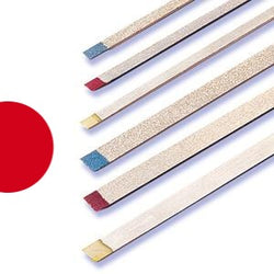 Two Striper Metal Strip Narrow Red Fine ( Pack of 1)