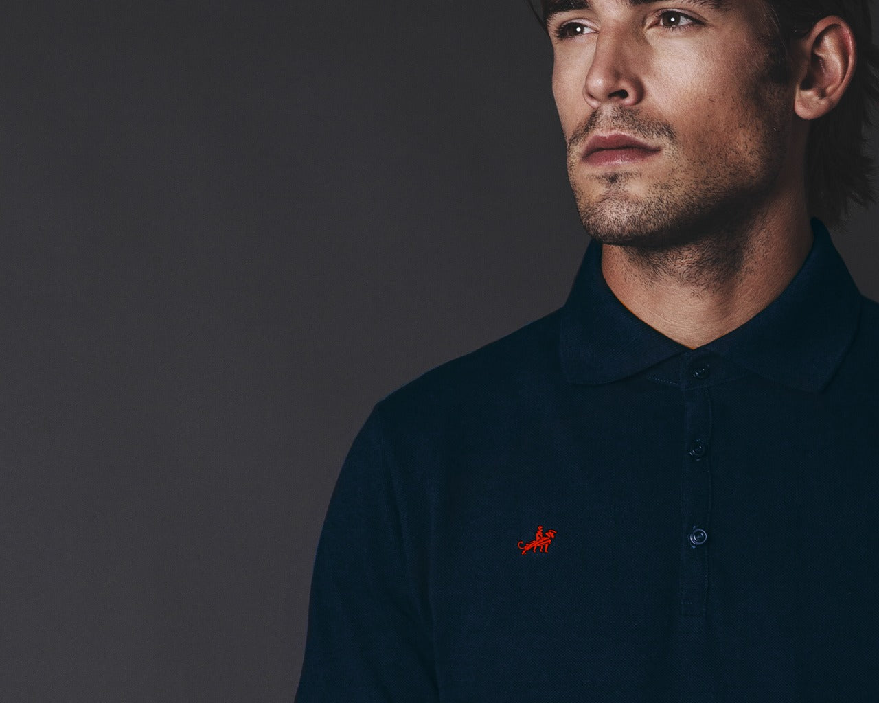 Polo Fangio Navy Blue