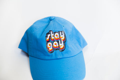 Stay Gay Pride Embroidered Hat