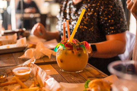 Candy Daiquiri from Nice Guys- Our Favorite New Orleans Burgers