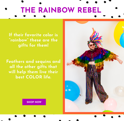 Rainbow Rebel Gift Guide