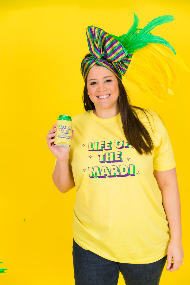 Life of the Mardi Adult Party Tee