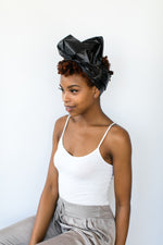 Black Metallic Headwrap