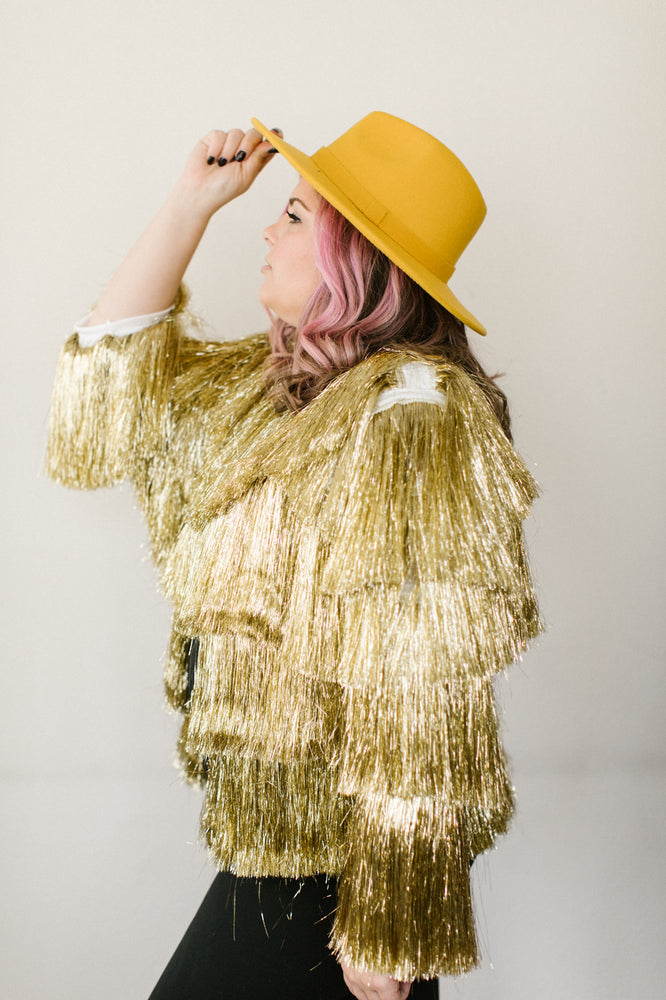 The Golden Girl Tinsel Jacket