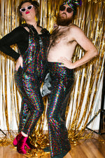 Rainbow High Waisted Sequin Pants