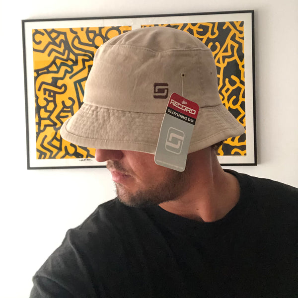 Vintage 00s Record Clothing Co Skate Bucket Hat