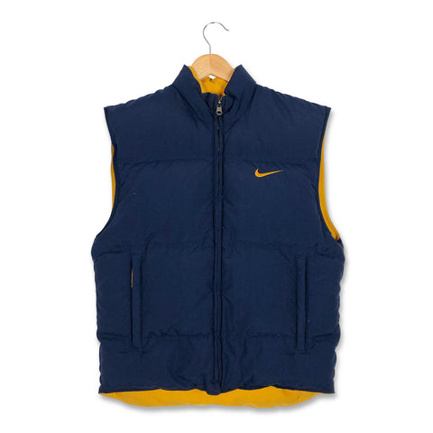 Nike Spell Out Logo Bodywarmer Jacket S/M