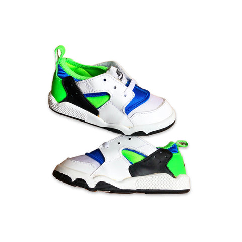Vintage 1991 Nike Baby Huarache Scream Green