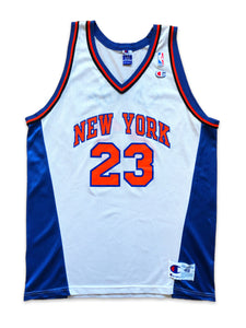 Vintage 90s New York Knicks Marcus Camby NBA Jersey 48 XL