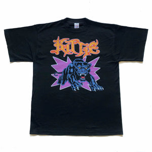 kittie run like hell 2002 metal tshirt front with panther and graphic