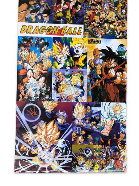 1996 Dragonball Z Bird Studio Toei Animation Poster