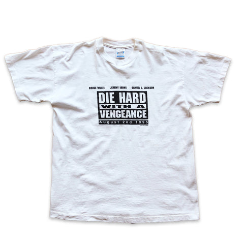 Vintage 1995 Die Hard: With A Vengeance Movie Tshirt