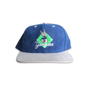 Vintage 1996 Looney Tunes New York Yankees Youth Strapback Hat
