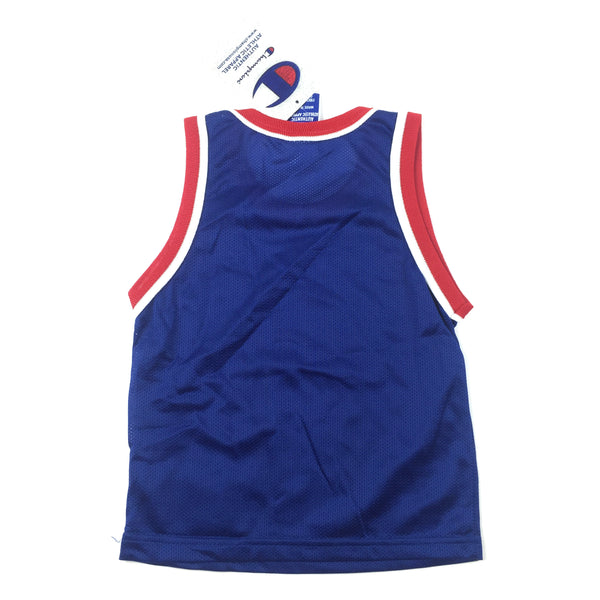 Vintage Champion New Jersey Nets blanks toddler jersey