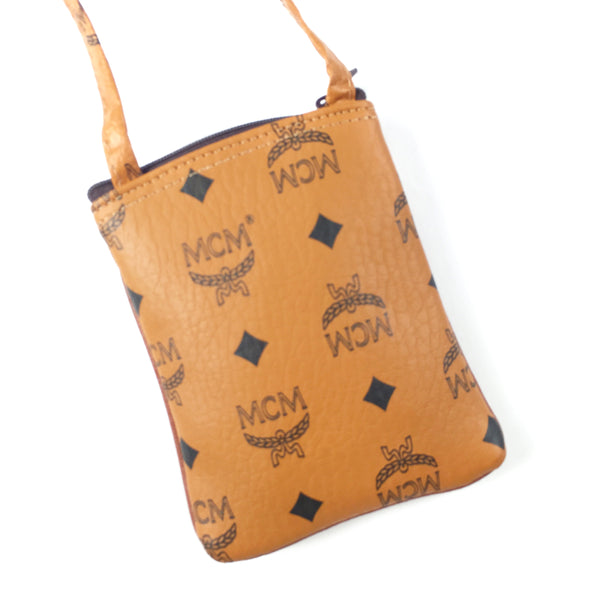 Vintage 90s Bootleg MCM Neck Pouch