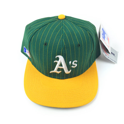Vintage 1990s Sports Specialties Oakland Athletics Script Snapback Hat