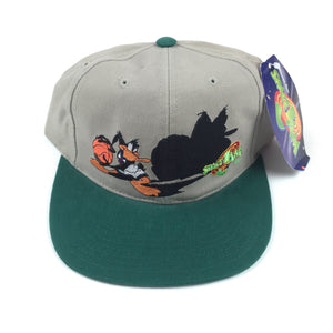 Vintage 1996  Daffy Duck Space Jam Snapback Hat by American Needle