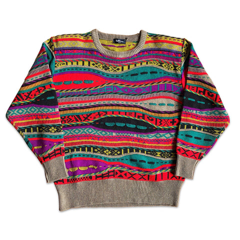 Vintage Colored Stripes Knitwear Pullover XS/S