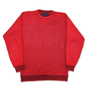 Vintage Carlo Colucci Red Knitwear Pullover 48 S/M