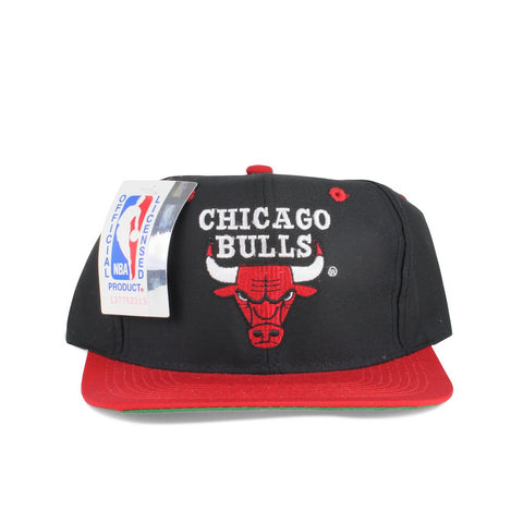 Vintage Snapback Cap Hat Chicago Bulls by Brand Logo7 Adult size