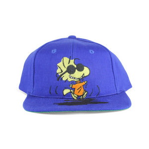 Vintage 1990s Woodstock From Peanuts Family Snapback Hat