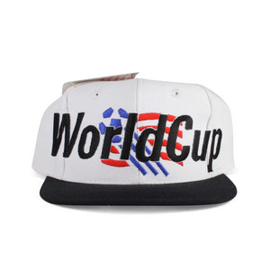 Vintage 1994 World Cup USA Spell Out Snapback Hat by Adidas