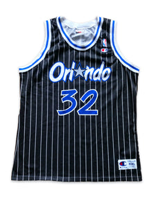 Vintage 90s Champion Orlando Magic Shaquille O'Neal NBA Jersey XL/XXL