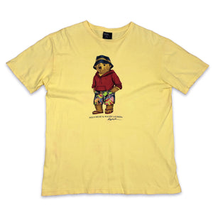 Vintage Polo Ralph Ralph Lauren Holiday Bear Tshirt M/L