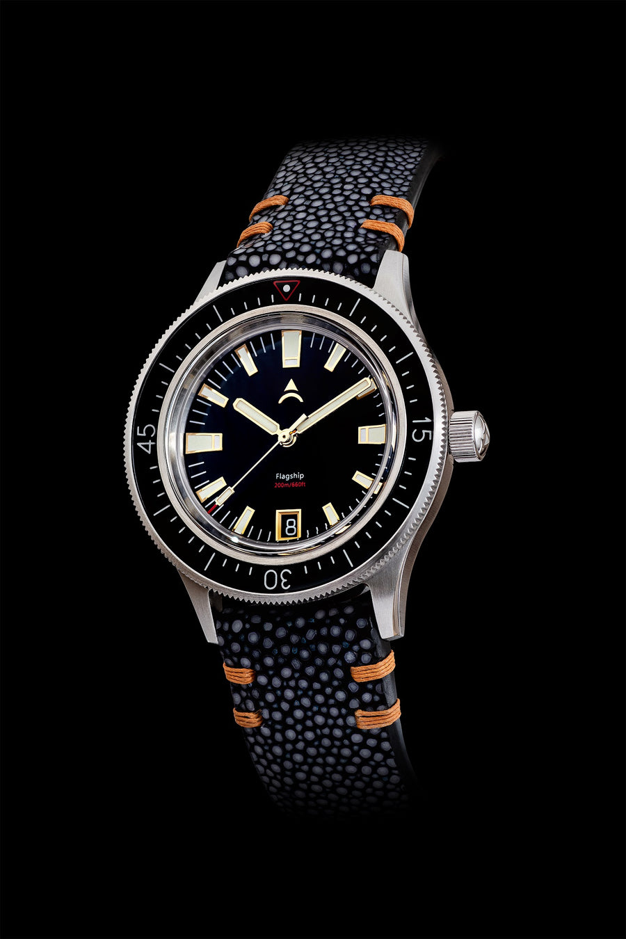 Stingray Watch Strap 20mm | Black